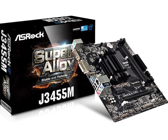ASRock J3455M NA (integrated CPU) Micro ATX - motherboards (DIMM, DDR3-SDRAM, DDR3L-SDRAM, Dual, Intel, NA (integrated CPU), J3455)
