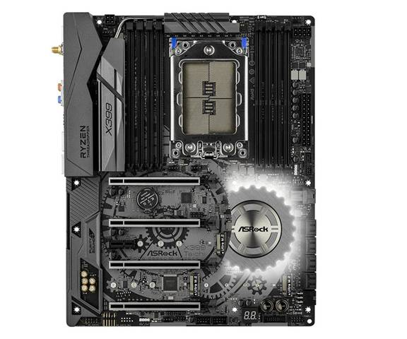 ASRock X399 Taichi AMD X399 Socket AM3+ ATX scheda madre