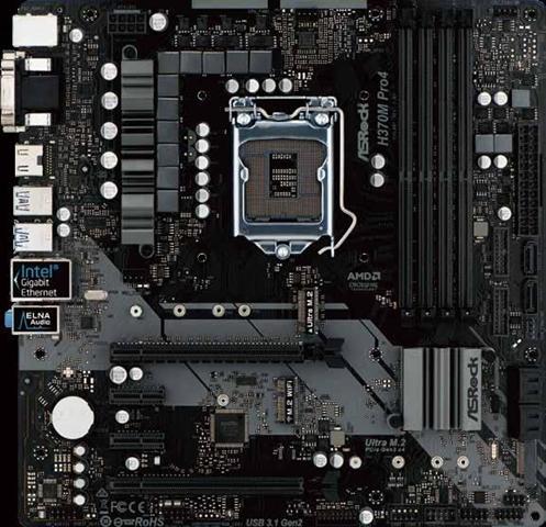 ASRock H370M Pro4 scheda madre LGA 1151 (Presa H4) Micro ATX Intel H370