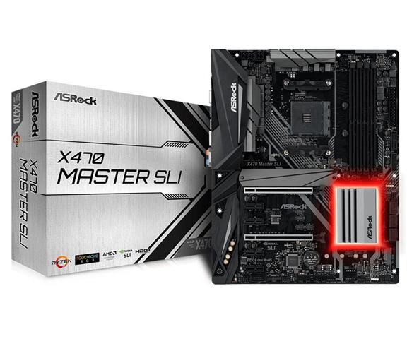ASRock X470 Master SLI scheda madre Presa AM4 ATX AMD X470