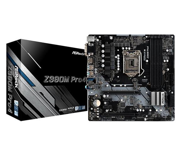 ASRock Z390M Pro4 scheda madre LGA 1151 (Presa H4) Micro ATX Intel Z390