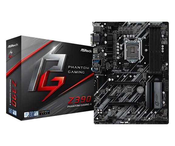 ASRock Z390 Phantom Gaming 4 scheda madre LGA 1151 (Presa H4) ATX Intel Z390