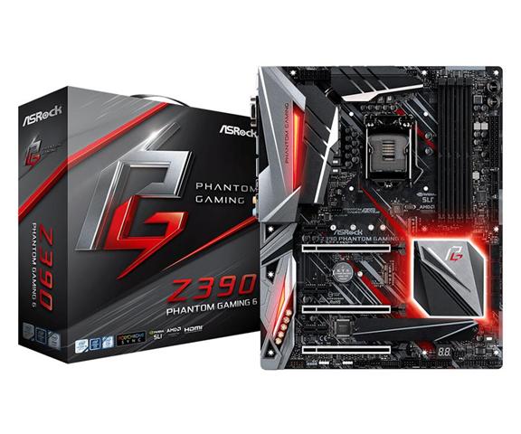 ASRock Z390 Phantom Gaming 6 LGA 1151 (Presa H4) Intel Z390 ATX