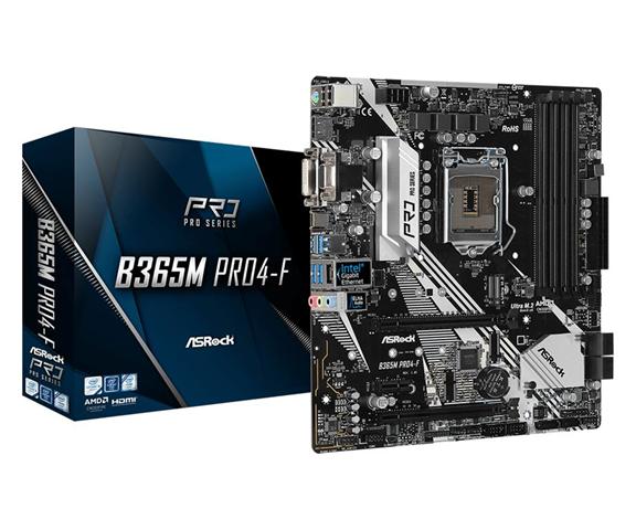 ASRock B365M PRO4-F scheda madre LGA 1151 (Presa H4) Micro ATX Intel B365