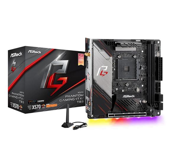 ASRock X570 Phantom Gaming-ITX/TB3 AMD X570 Presa AM4 mini ITX