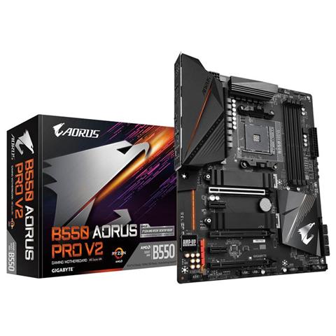 Gigabyte B550 AORUS PRO V2 scheda madre AMD B550 Presa AM4 ATX