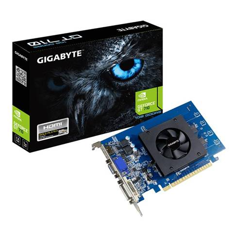 Gigabyte GV-N710D5-1GI scheda video NVIDIA GeForce GT 710 1 GB GDDR5