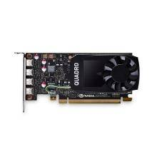 PNY VCQP1000DVI-PB scheda video Quadro P1000 4 GB GDDR5