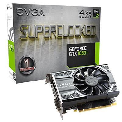 EVGA 04G-P4-6253-KR scheda video NVIDIA GeForce GTX 1050 Ti 4 GB GDDR5