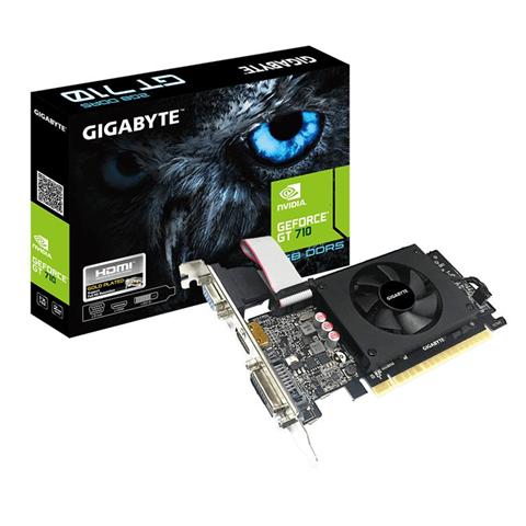 Gigabyte GV-N710D5-2GIL scheda video GeForce GT 710 2 GB GDDR5