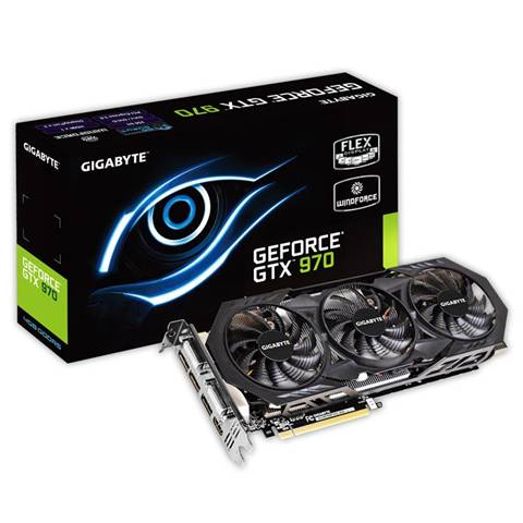 Gigabyte Scheda video SVGA gigabyte geforce gtx970-oc 4Gb
