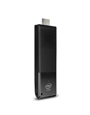 Intel PC Stick Intel STK1AW32SC x5-Z8300 1.44GHz Windows 10 HDMI Nero