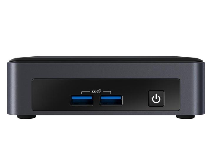 Intel NUC BKNUC8I3PNK barebone per PC/stazione di lavoro i3-8145U 2,1 GHz UCFF Nero BGA 1528