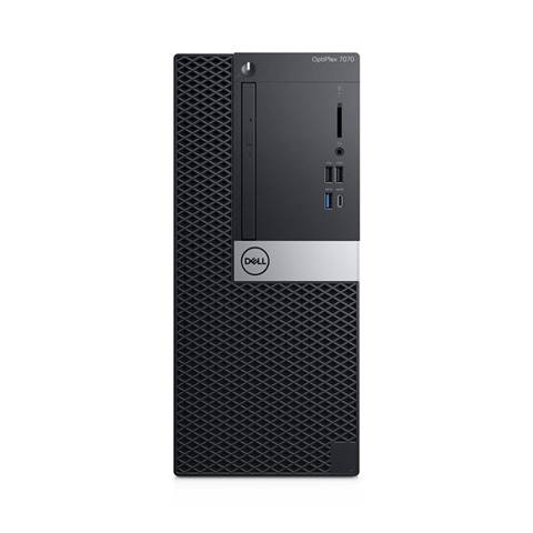 Dell OptiPlex 7070 Intel Core i5 di nona generazione i5-9500 8 GB DDR4-SDRAM 256 GB SSD Mini Tower Nero PC Windows 10 Pro