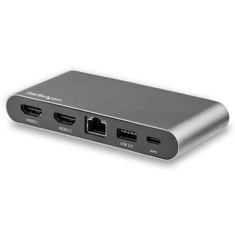 StarTech.com Adattatore Multi-porta USB-C per doppio monitor - 2 x 4K HDMI - 100W PD 3.0