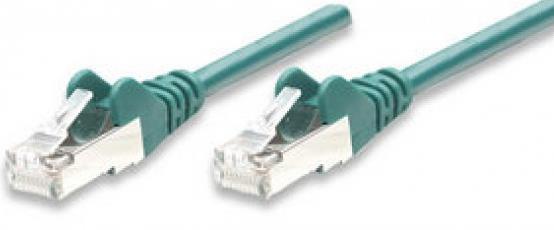 Intellinet 1m Cat5e F/UTP 1m Cat5e F/UTP (FTP) Verde
