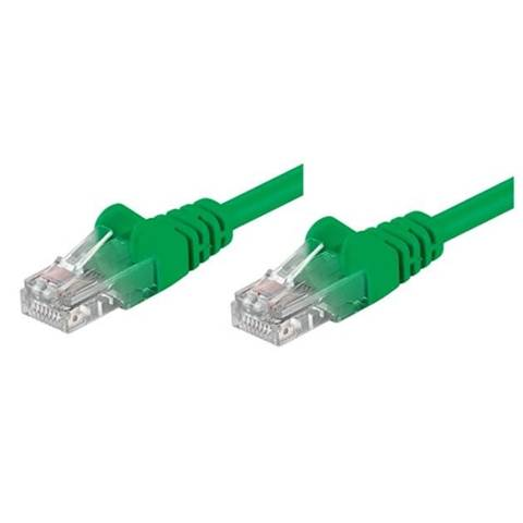 Intellinet 0.5m RJ45 Cat 5e 0.5m Cat5e U/UTP (UTP) Verde