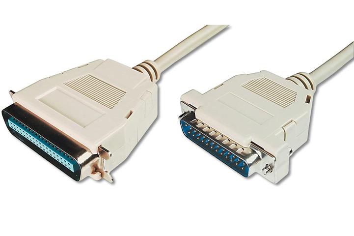 ASSMANN Electronic AK-580100-018-E cavo parallelo 1,8 m Beige, Bianco