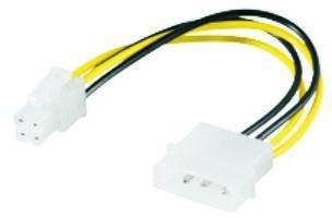 M-Cab 7008010 Interno 0.16m CPU P4 (4-pin) Multicolore cavo di alimentazione