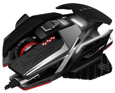 Mad Catz R.A.T. X3 mouse USB Ottico 16000 DPI Mano destra