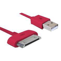 Phoenix Technologies 3m USB/Apple iPhone 4/iPod/iPad Magenta