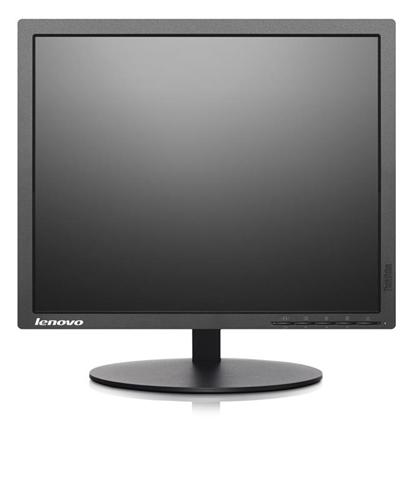 Lenovo Thinkvision t1714p-monitor a led-17-1280 x 1024-tn-250 cd/m� �� 5 00:1-10-ms-dvi-d/vga, business-displayport Nero