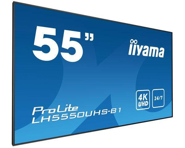 IIYAMA LH5550UHS-B1 visualizzatore di messaggi 139,7 cm (55