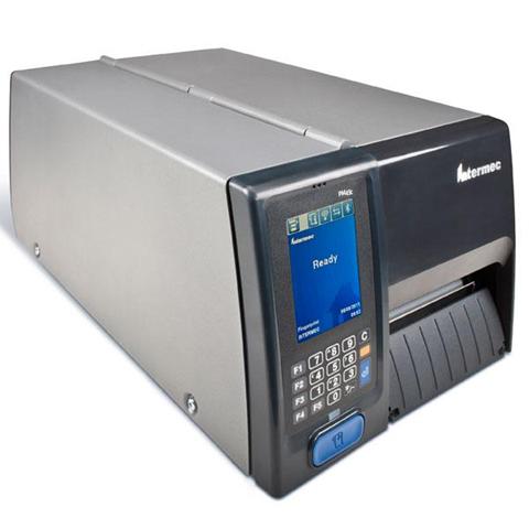Intermec PM43 Termica diretta/Trasferimento termico 300DPI Grigio stampante per etichette (CD)