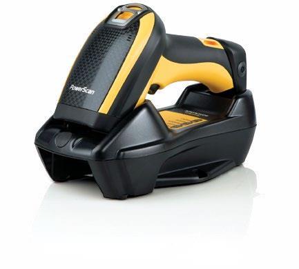 DataLogic PowerScan PBT9300 1D Laser Nero, Giallo Handheld bar code reader