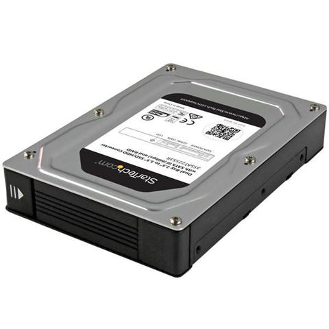 StarTech.com Box Adattatore SATA con RAID a 2 Alloggiamenti da 2,5