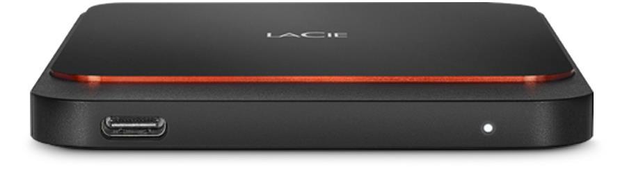 LaCie STHK2000800 unità esterna a stato solido 2000 GB Nero, Arancione