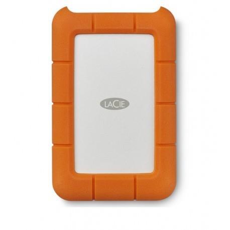 LaCie Rugged USB-C disco rigido esterno 5000 GB Grigio, Giallo