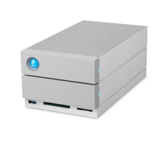 LaCie 2big Dock Thunderbolt 3 array di dischi 28 TB Scrivania Grigio