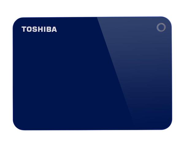 Toshiba Canvio Advance disco rigido esterno 1000 GB Blu