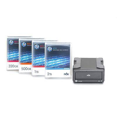 HP Enterprise RDX USB 3.0 External Docking Station disco rigido interno