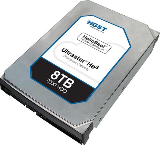 HGST Ultrastar He8 8000GB SAS disco rigido interno