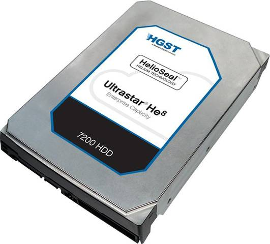 HGST Ultrastar He8 6000GB Serial ATA III disco rigido interno