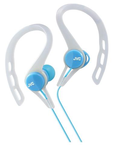 JVC HA-ECX20-A-E Blu, Bianco Intraurale Aggancio, Auricolare cuffia