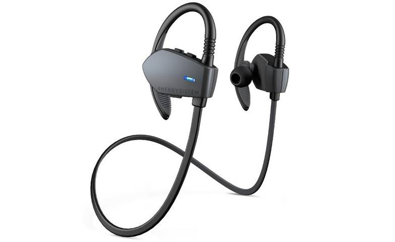 Energy Sistem Energy Earphones Sport 1 Bluetooth Cuffia Aggancio Nero, Grafite