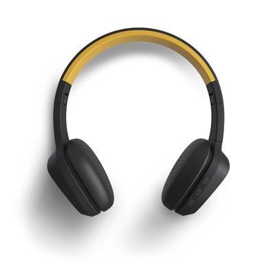 Energy Sistem 429325 headphones/headset Cuffia Padiglione auricolare Nero, Giallo