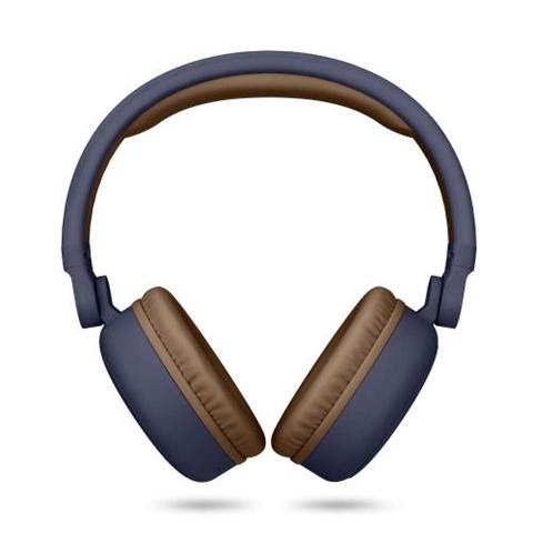 Energy Sistem 444885 headphones/headset Cuffia Padiglione auricolare Blu, Marrone