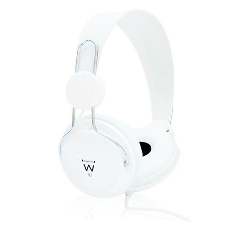 Ewent EW3578 cuffia e auricolare Padiglione auricolare Bianco