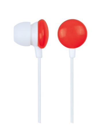 Gembird MHP-EP-001-R cuffia e auricolare Cuffie Rosso, Bianco