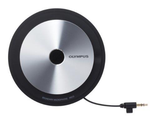 Olympus ME33 Interview microphone Cablato Nero, Metallico