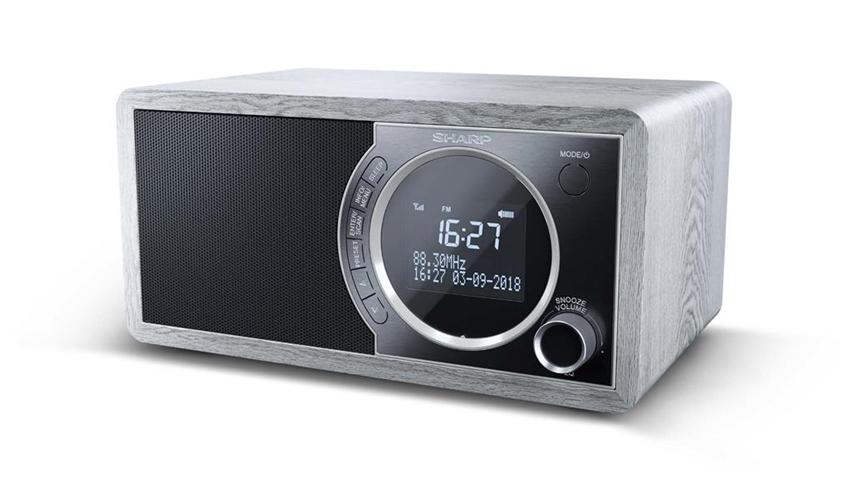 Sharp DR-450 radio Personale Digitale Grigio, Acciaio inossidabile
