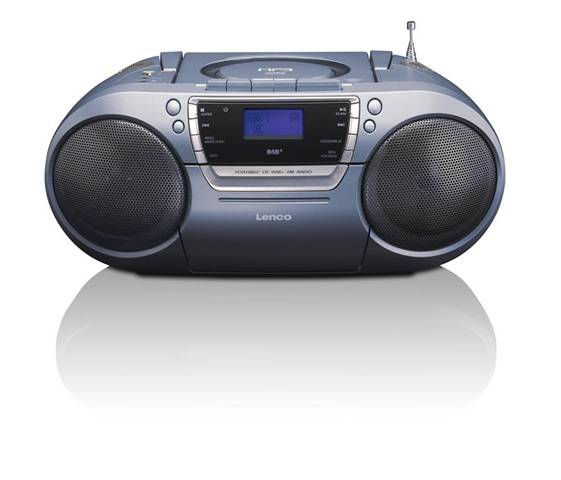 Lenco SCD-680 Digitale Grigio radio CD
