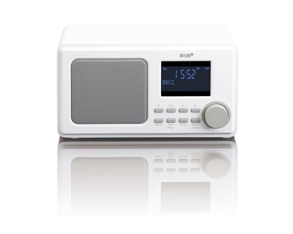 Lenco DAR-010 radio Personale Digitale Bianco