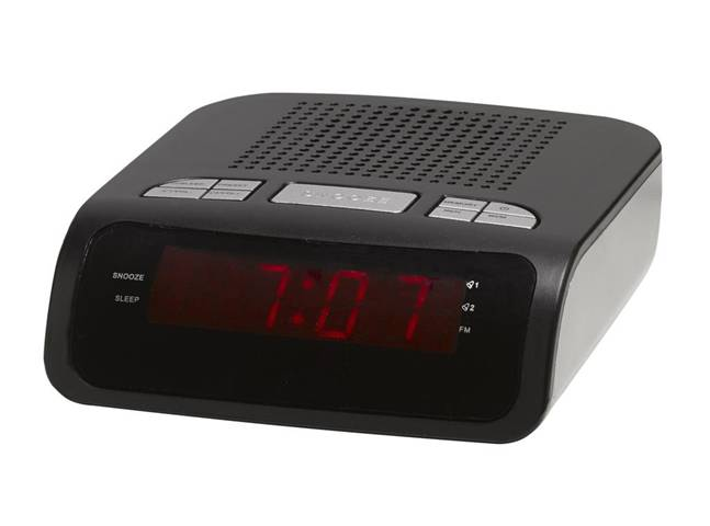 Denver CR-419 MK2 radio Orologio Digitale Nero