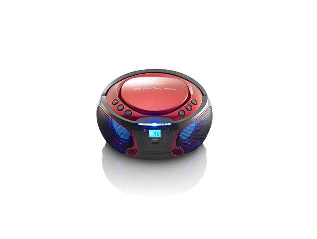 Lenco SCD-550 Digitale 3,6 W Rosso
