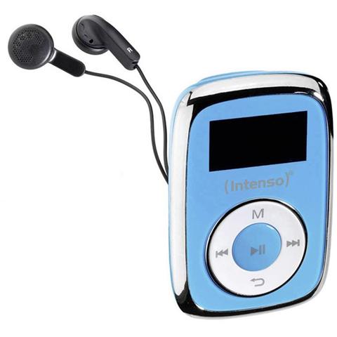 MP3-Player Intenso Music Movers 8 GB Blu Clip di fissaggio